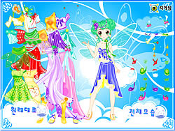 Flower and Little Princess Dress Up game