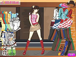 Youth Style Dressup game