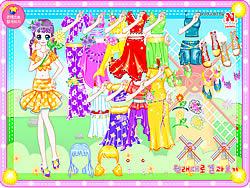 Color Angel Dresses game