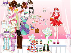 Palace Lady Dressup game