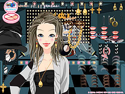 Scene Lights Dressup game
