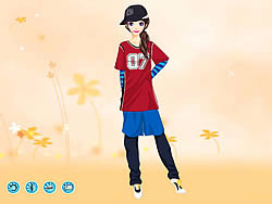 Hiphop Gal Dressup game