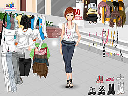 Casual Fashion Dressup game