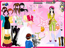 In Fashion Magazine World Dress Up game