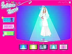 Fashion Bride Dressup game