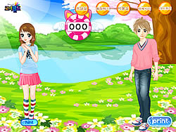 Girl's Rush Dressup game