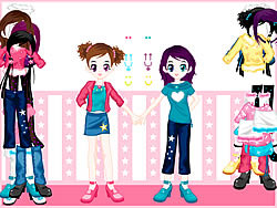 juego Dressup Twins