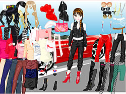 Ferrari Dress Up 4 game
