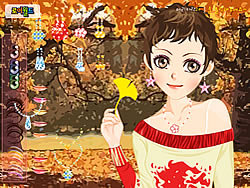 Fall Star Makeup game