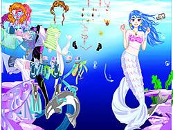 juego Sea Girl Dressup
