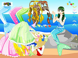 juego Mermaid 2 Dress Up