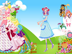 Female Servant Dressup game
