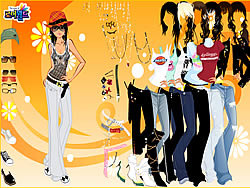 Eighties Dress Up game