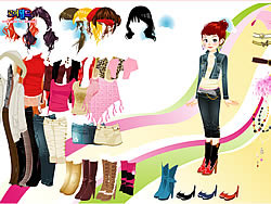 New Collection Dress Up game