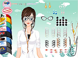 Step Out of the Salon game