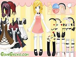 Gothic Lolita Dressup game
