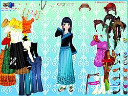 Asian Gal Dressup game