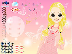 juego Girl Butterfly Make Up