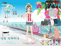 juego Hawaiian Beach Girl