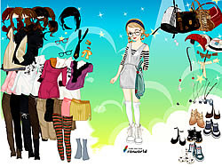 Young Girl Dress Up game
