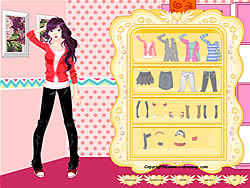 Girl Dressup Makeover 4 game