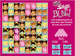 Bratz Babyz Bling game