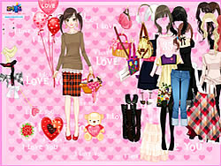 Time to Love Dressup game